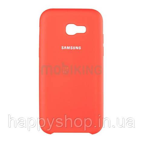 Оригінальний силіконовий чохол Soft touch для Samsung Galaxy J2 2018 (J250) Red, фото 2