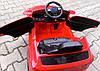 Электромобиль детский B4 с пультом управления, колесами EVA и мягким сидением красный, фото 4