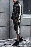 Спортивный костюм трикотажный мужской Black Island Knit Suit (реплика)