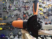 Шлифмашина угловая STORM, 500 Вт, 115 мм, 11000 об/мин, датчик износа щеток INTERTOOL