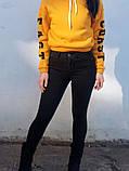 Джинси жіночі Skinny Fit з високою посадкою HEPYEK чорний, фото 7