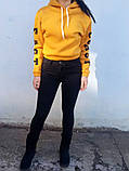 Джинси жіночі Skinny Fit з високою посадкою HEPYEK чорний, фото 8
