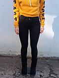 Джинси жіночі Skinny Fit з високою посадкою HEPYEK чорний, фото 9