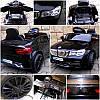 Електромобіль дитячий B4 з пультом управління, колесами EVA і м'яким сидінням чорний, фото 7