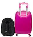 """Детский чемодан на колесах и рюкзак """"Принцесса София"""" 516-3, фото 3"""