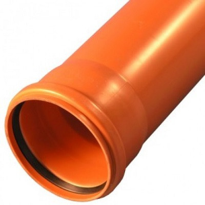 Труба канализационная ПВХ 400/7,7-1м