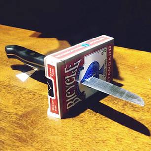 Реквизит для фокусов | Фокус Нож сквозь металл (Knife thru Metal), фото 2