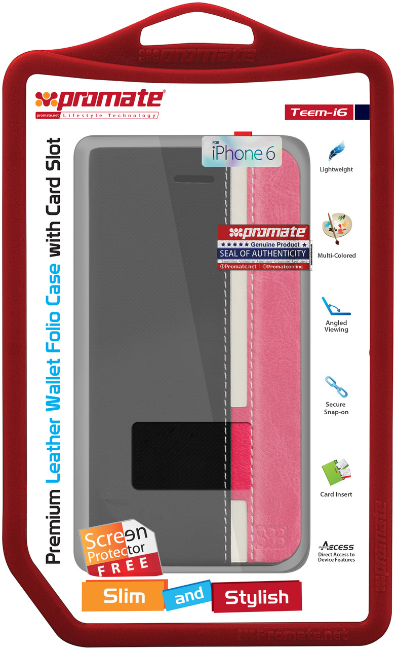 Чехол для iPhone Promate Teem-i6 Black