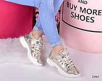Женские кроссовки Gucci Гуччи  натуральная кожа (реплика), фото 1
