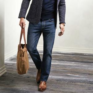 Мужские прямые джинсы