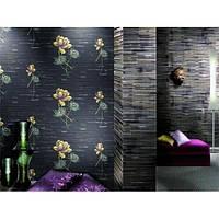Оклеивание стен виниловыми обоями на флизелиновой основе, фото 1