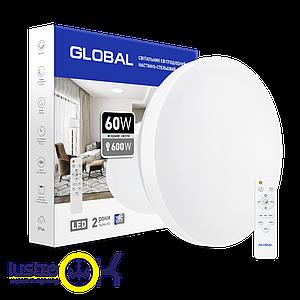 Умный Smart светильник Global 60W с пультом управления