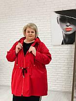 Женская эксклюзивная Парка больших размеров / размер 42-70 , фото 2