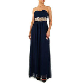 Женское платье от Emma&Ashley - синий - KL-WJ-7510-синий