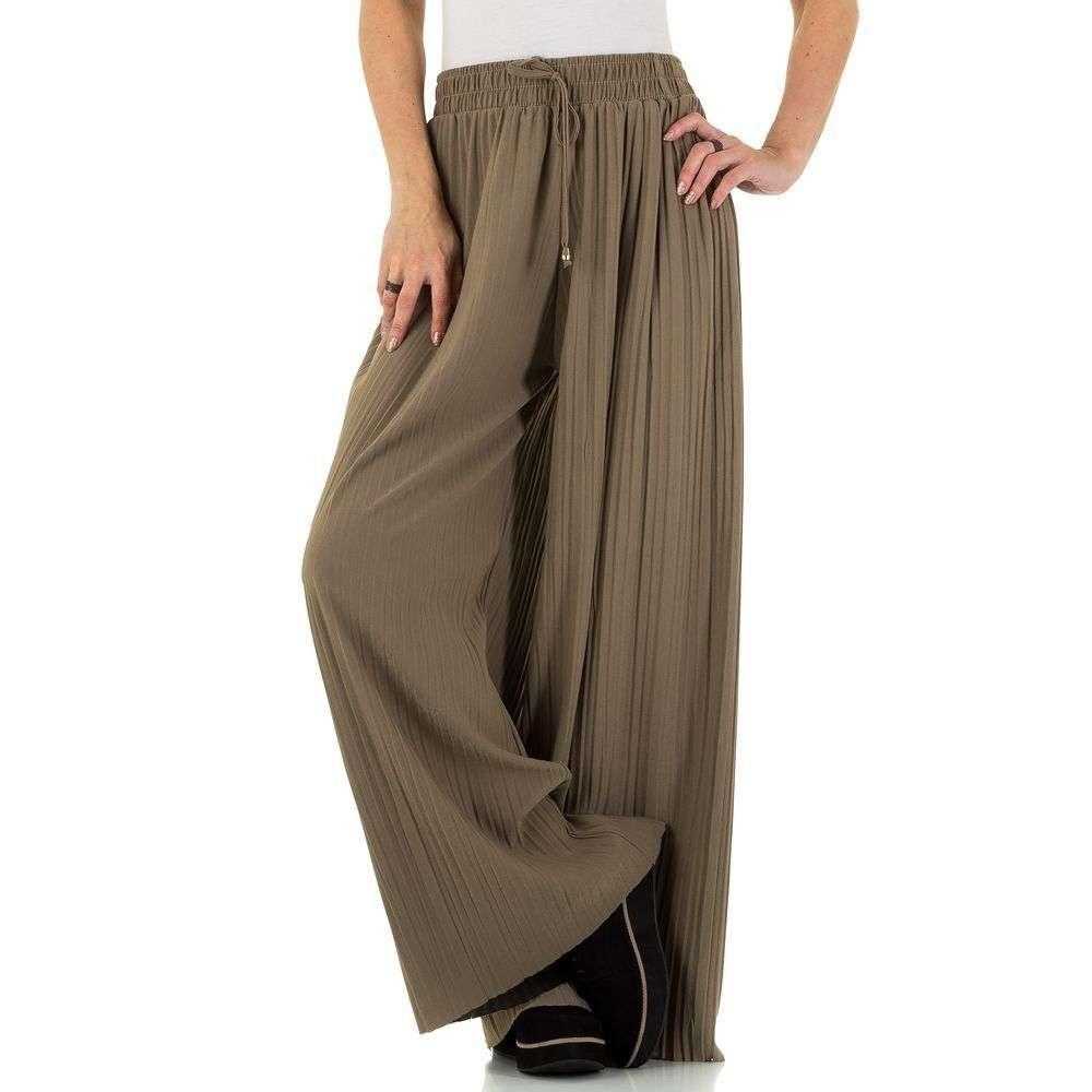 Женские брюки от Holala taupe - KL-BFLG18176-taupe