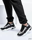 Женские кожаные кроссовки в леопардовом принте, фото 5