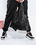 Женские кожаные кроссовки в леопардовом принте, фото 3