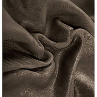 Ткань однотонный  лен  софт горький шоколад