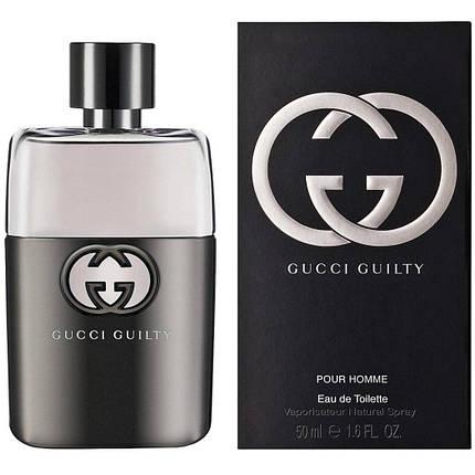 Мужская туалетная вода Gucci Guilty Pour Homme EDT 100 ml реплика , фото 2