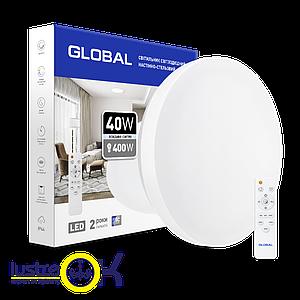 Умный Smart светильник Global 40W с пультом управления