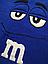Подушка M&M синій (45 см), фото 2