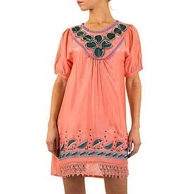 Женское платье от Angel Paris - coral - KL-6047-Корал