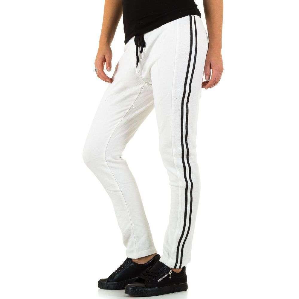 Женские брюки от Lexxury - белый - KL-L8565-13-white