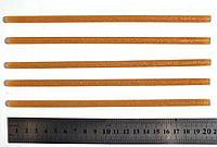 Стержень клеевой с золотыми блестками, 7 мм. х 200 мм.