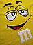 Подушка M&M жовтий (45 см), фото 3