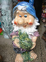 Садовая фигурка Гном с арбузом  68 см