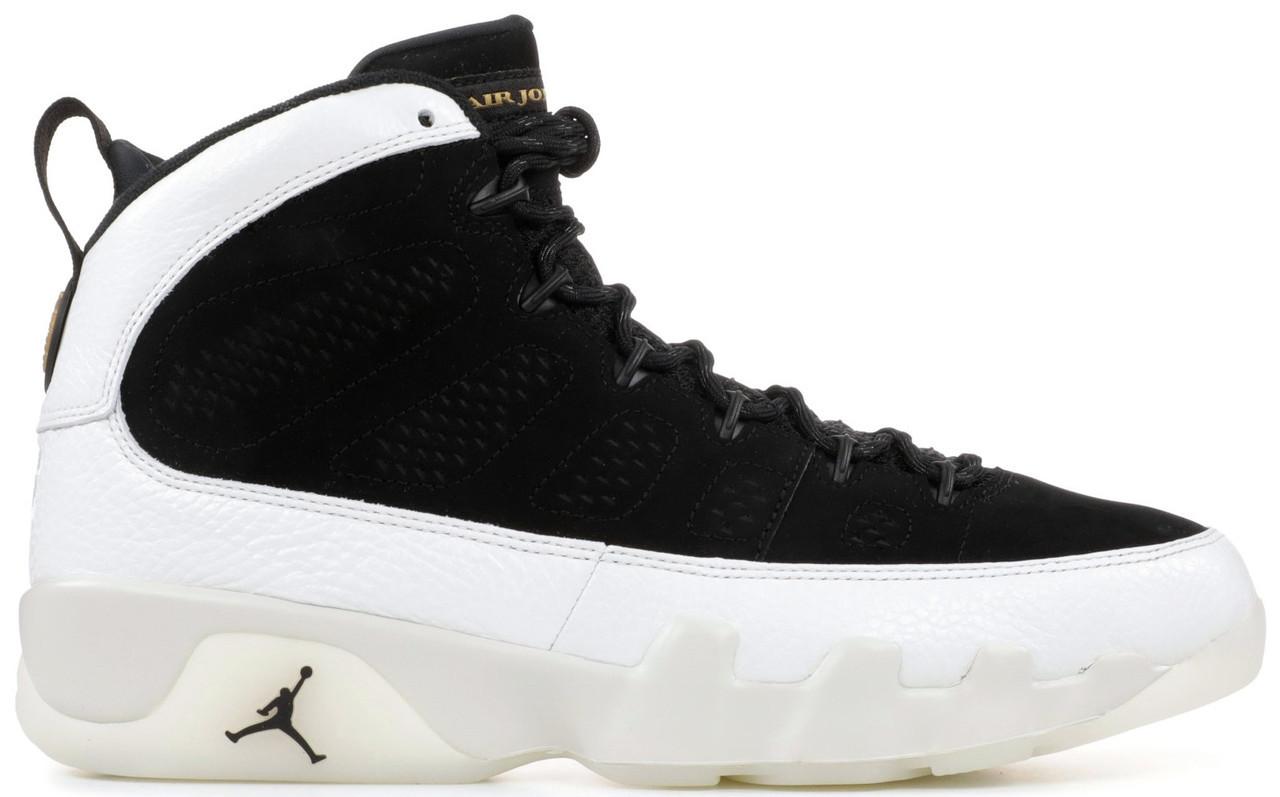 5d1b7872 Баскетбольные кроссовки Air Jordan 9 LA Black/Summit White Найк Аир Джордан  9 в стиле