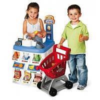 Детский игровой набор «Магазин-Супермаркет» 31621 Keenway с тележкой и продуктами