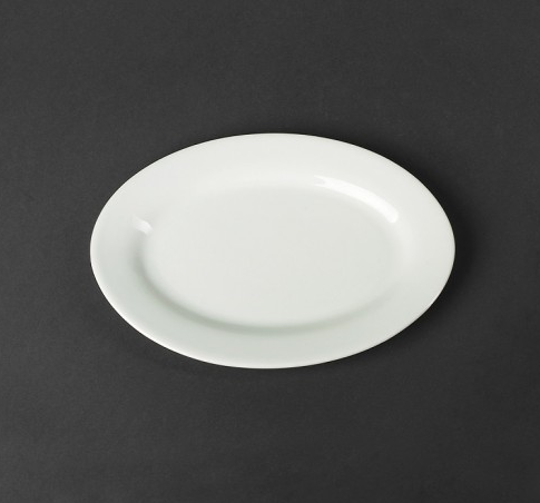Блюдо белое овальное 160х225мм A1405
