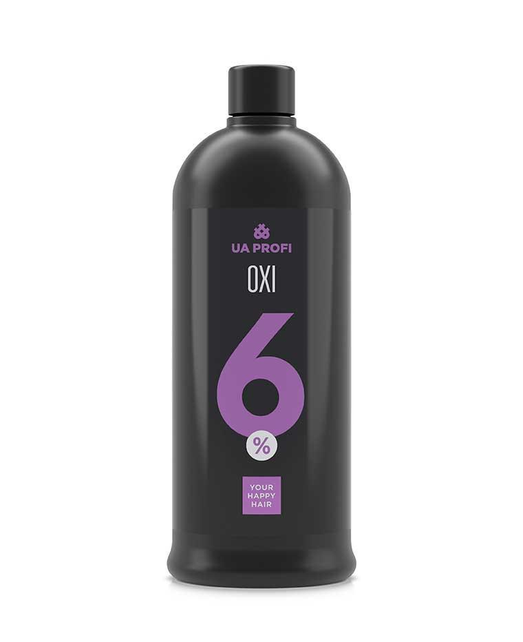 Крем-окислитель для волос любого типа 6%, 1 л, Ua Profi, Юа профи