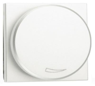 Светорегулятор для LED-ламп 2-100 Вт, белый цвет Zenit ABB NIESSEN N2260.3 BL, 2 мод.