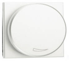 Светорегулятор для LED-ламп 2-100 Вт, белый цвет Zenit ABB NIESSEN N2260.3 BL, 2 модуля