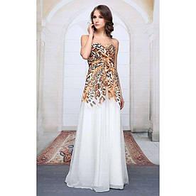 Женское платье из Festamo - белый - Мкл-F1152-белый