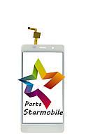 Сенсор (Тачскрин) для мобильного телефона Leagoo M5, белый ORIGINAL
