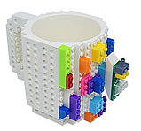 Чашка/Кружка конструктор  Lego брендовая Оранжевая 400 мл, фото 3
