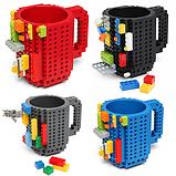 Чашка/Кружка конструктор  Lego брендовая Оранжевая 400 мл, фото 8