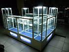 Оборудование из алюминиевого профиля и стекла