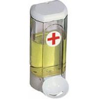 630med Дозатор жидкого мыла пластик прозрачный локтевой