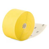 Шлифовальная шкурка на бумажной основе К60, 115мм*50м. INTERTOOL BT-0816, фото 2