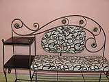 Кованый набор мебели в прихожую  -  06, фото 4