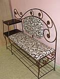 Кованый набор мебели в прихожую  -  06, фото 5