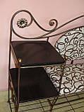 Кованый набор мебели в прихожую  -  06, фото 7
