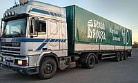 Тент на грузовой транспорт
