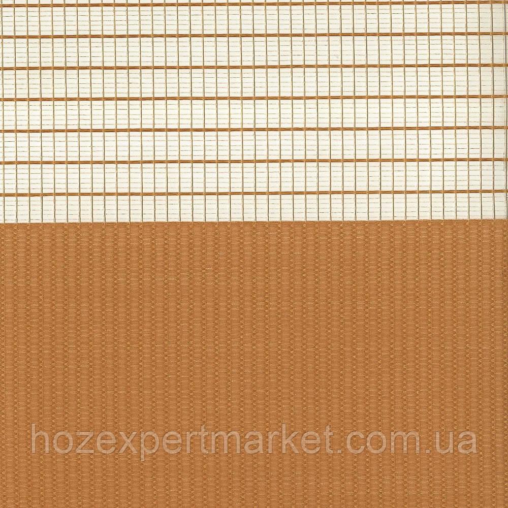 Z016 Феєрія помаранчевий темний (ролета День-Ніч Зебра)