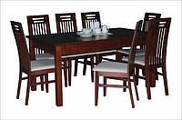 Стол раскладной обеденный Модерн венге / орех, фото 1