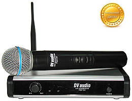 Радиосистема DV audio PGX-124. Радиомикрофон для караоке
